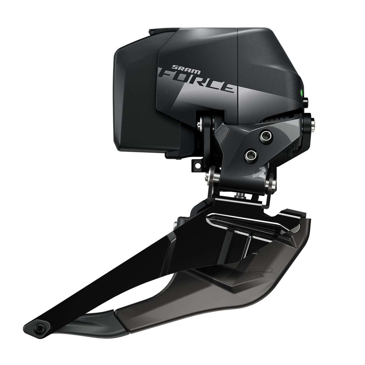 sram force axs wide front derailleur adds more tire clearance
