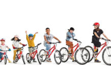 woom bikes youth bike lineup