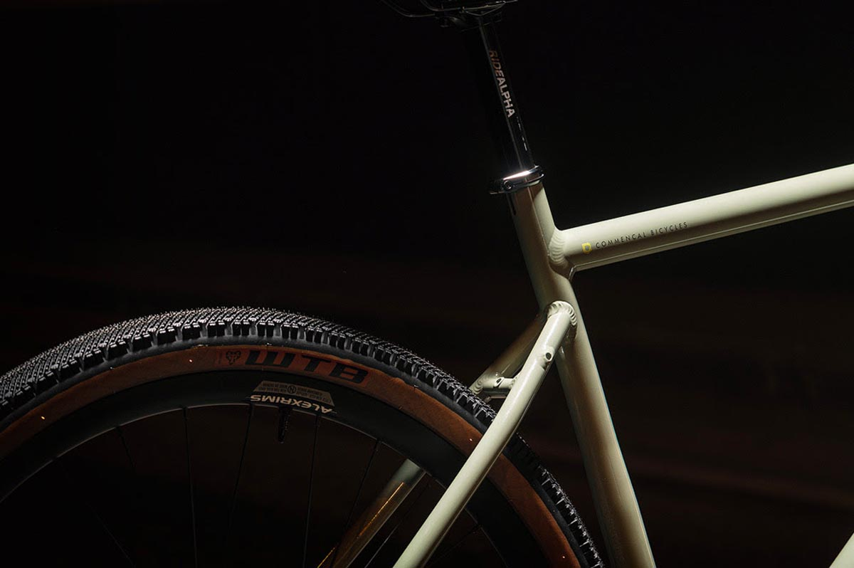 Commencal FCB is a Fast City Bike 50mm tires