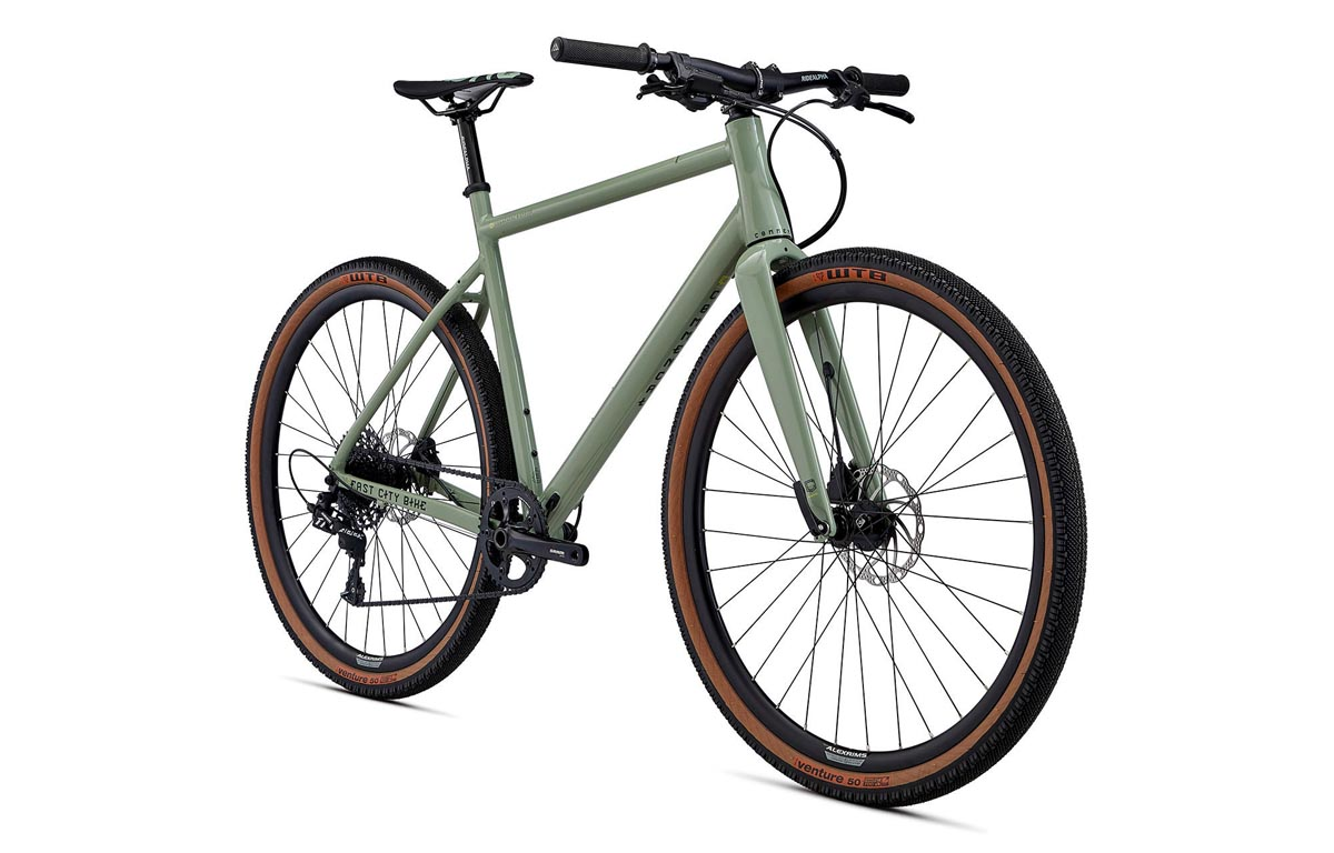 Commencal Fcb Is A Fast City Bike With Flat Bars And 700c X 50mm Gravel Tires Bikerumor