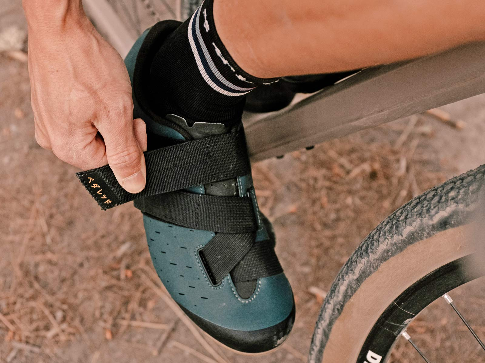 PEdALED Jary Terra gravel shoes, special edition Fizik Terra Powerstrap X4 gravel bike shoes