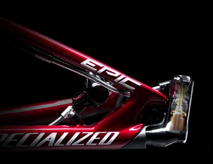 Specialized Epic full suspension mountain bike 2021 brain