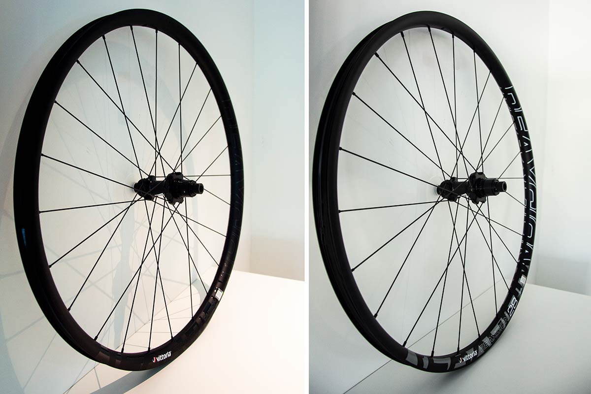 carbon alloy wheelsets for xc from vittoria reaxcion 2020