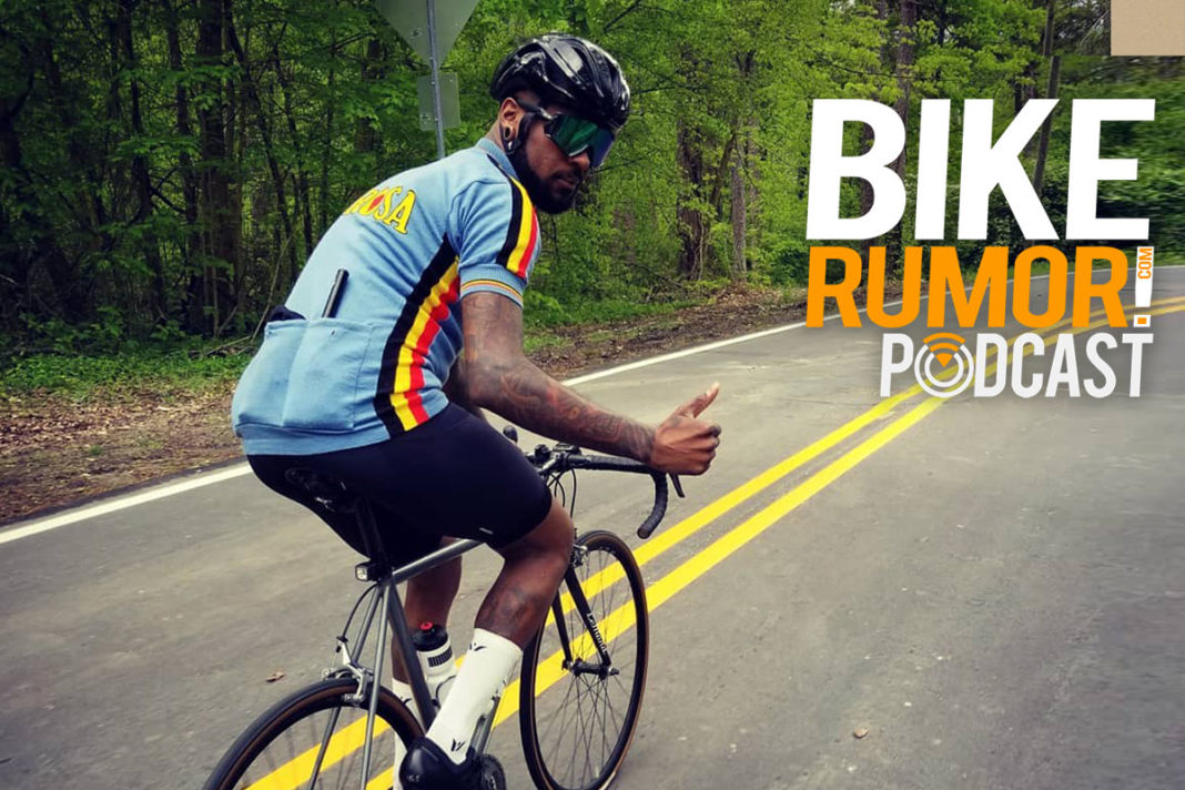 a conversation about race in the cycling industry with christian McKinney on the bikerumor podcast