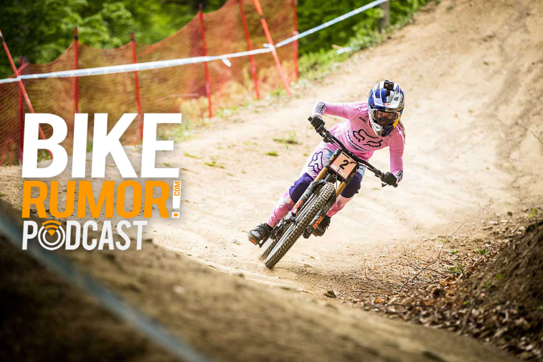 bikerumor podcast interview with pro downhiller tahnee seagrave about dh racing at fort william scotland uci world cup race