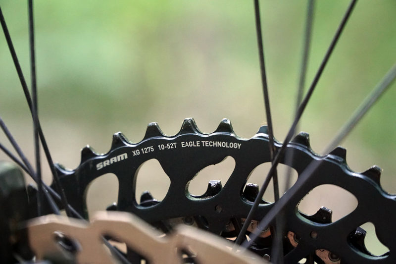 new sram eagle 10-52 tooth wide range cassette debuts for gx x01 and xx1 groups