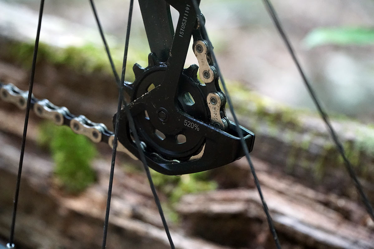 new sram eagle mountain bike derailleurs will work with 10-52 cassettes