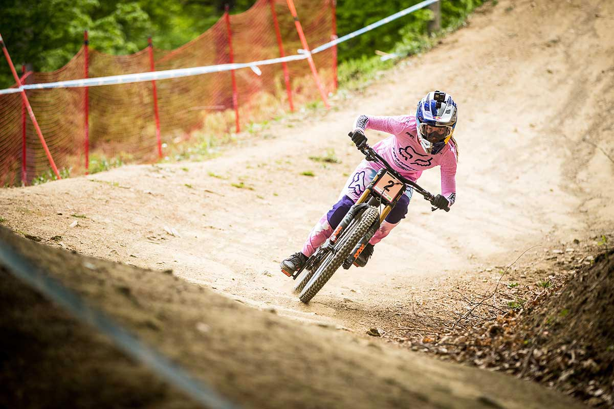 fort william world cup downhill track rough 30% reduction grip strength after 1 run