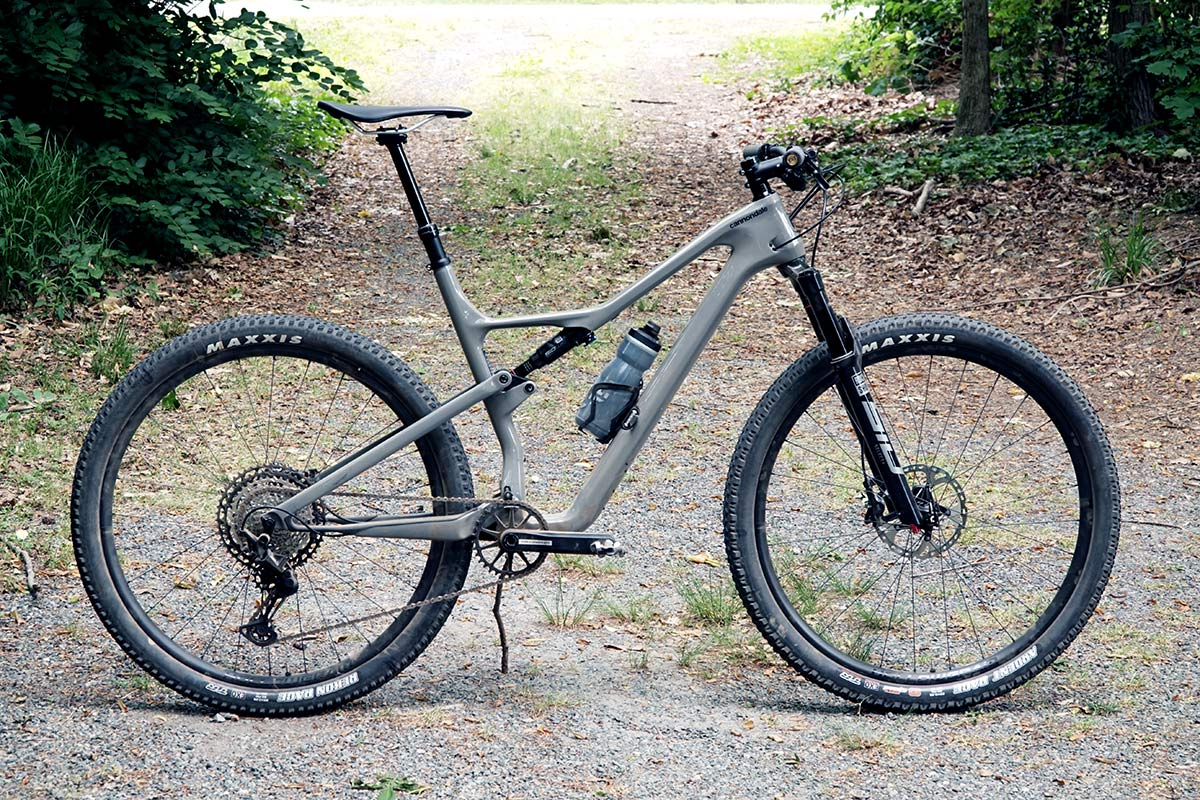 2021 cannondale scalpel frame and suspension detail photos