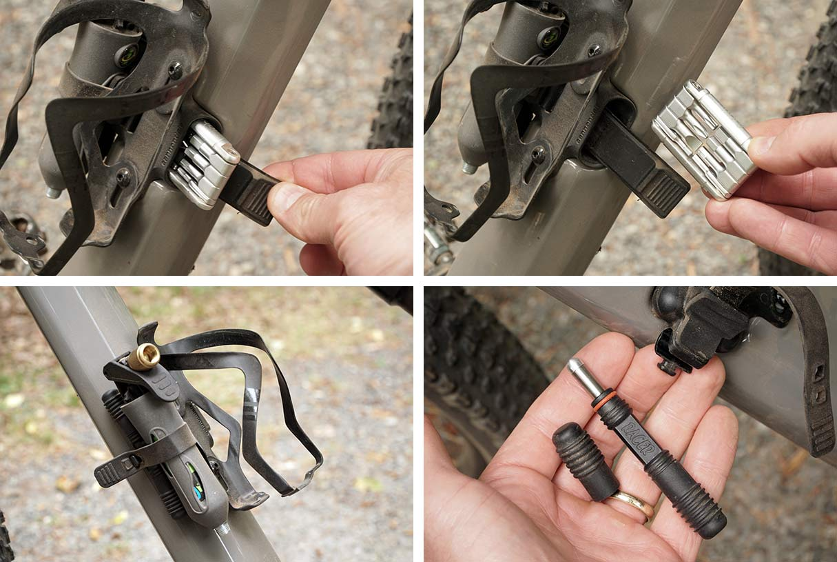 integrated stash tool and tire plug kit on new cannondale scalpel