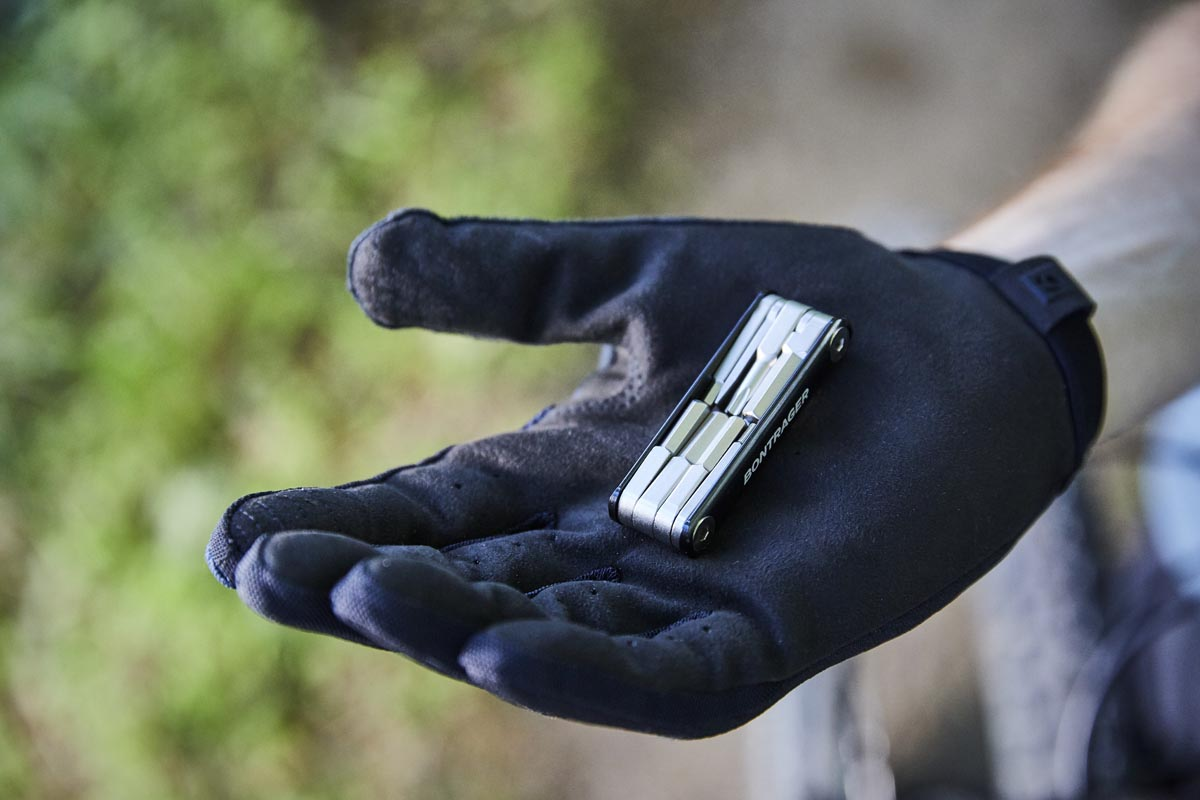 Bontrager hides their BITS Integrated MTB Tool System in your steerer for on-the-go repairs