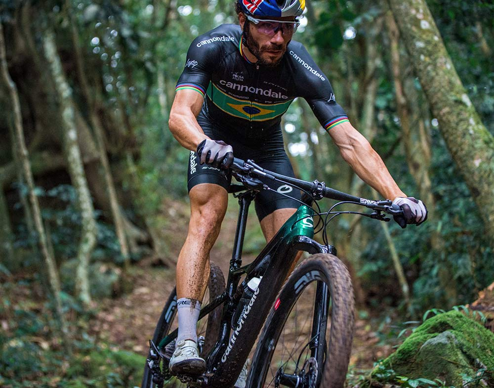 cannondale pro xc racer riding the new scalpel