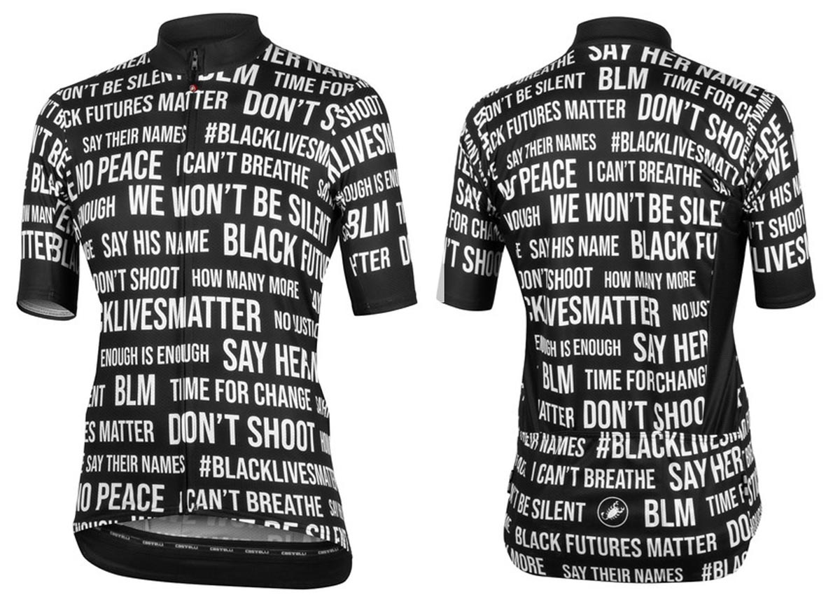 Castelli Say Their Names women's jersey