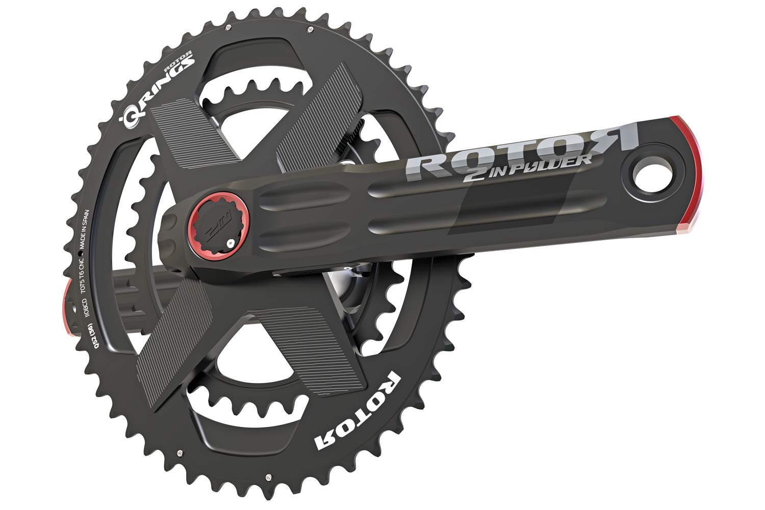 Rotor Power Packs power meters, complete affordable powermeter solution for any road or mountain bike