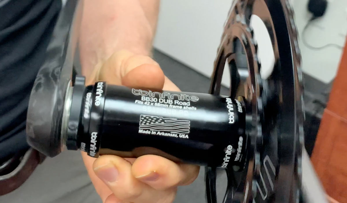 BBinfinite shows what is the best bottom bracket to eliminate creaking in a bike frame
