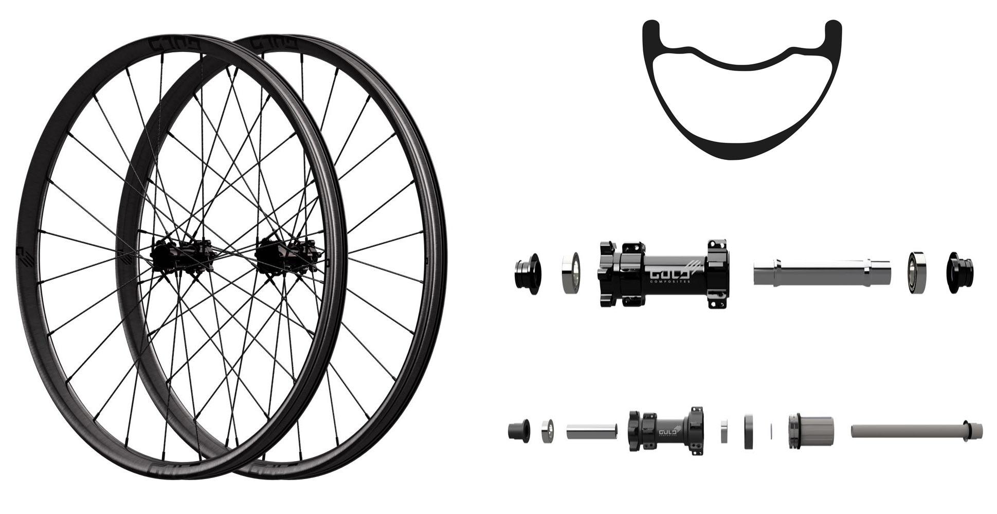 Gulo Composites mountain bike wheels