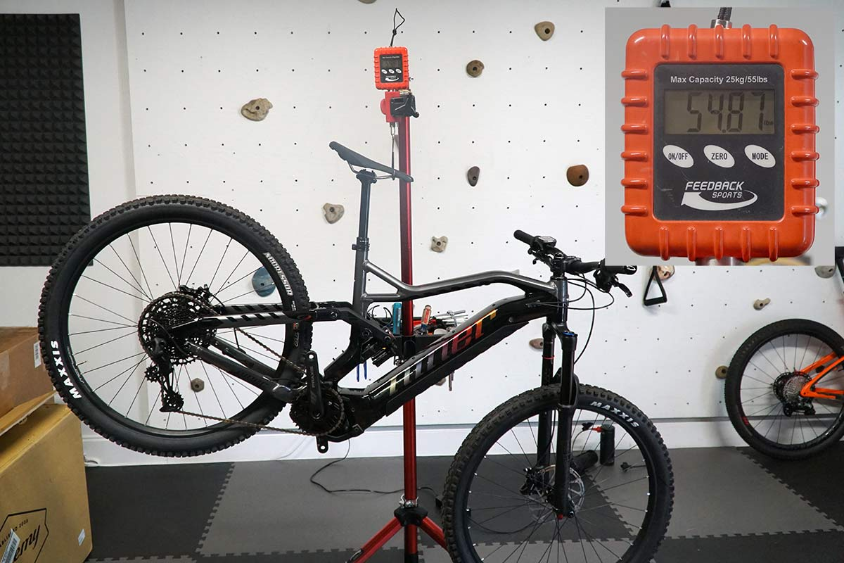 2021 Niner RIP e9 e-mountain bike actual weight for size large