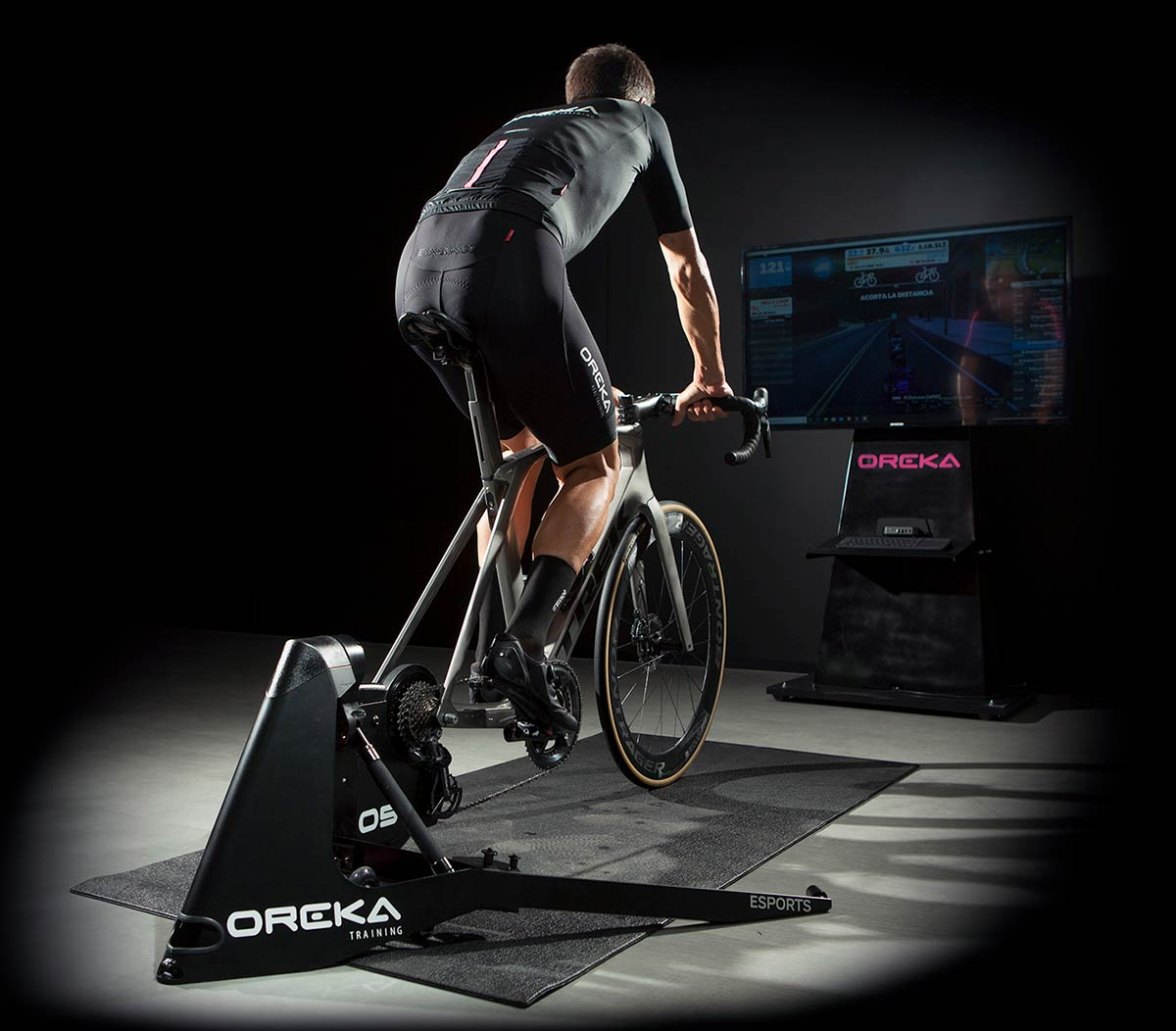 new oreka smart trainer wireless self powered magnetic field resistance train with power