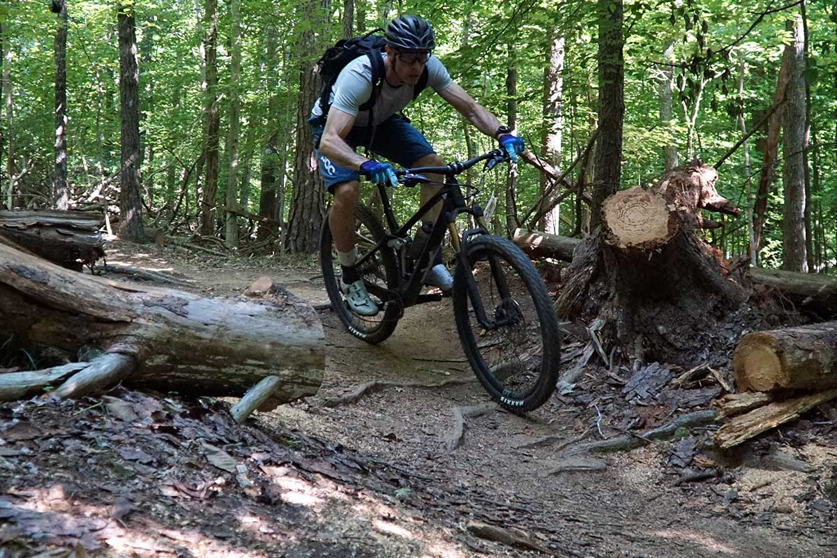 YT Izzo mountain bike review with actual weights