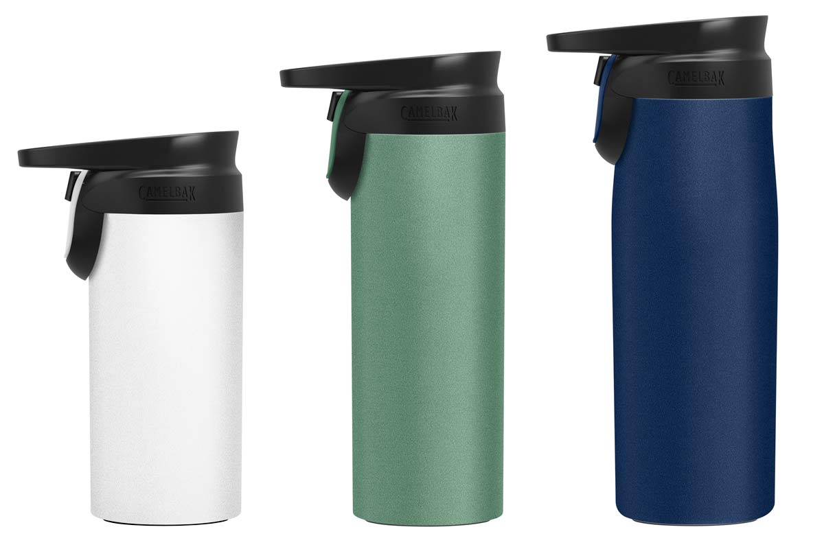 camelbak forge flow travel mug with spill proof lid