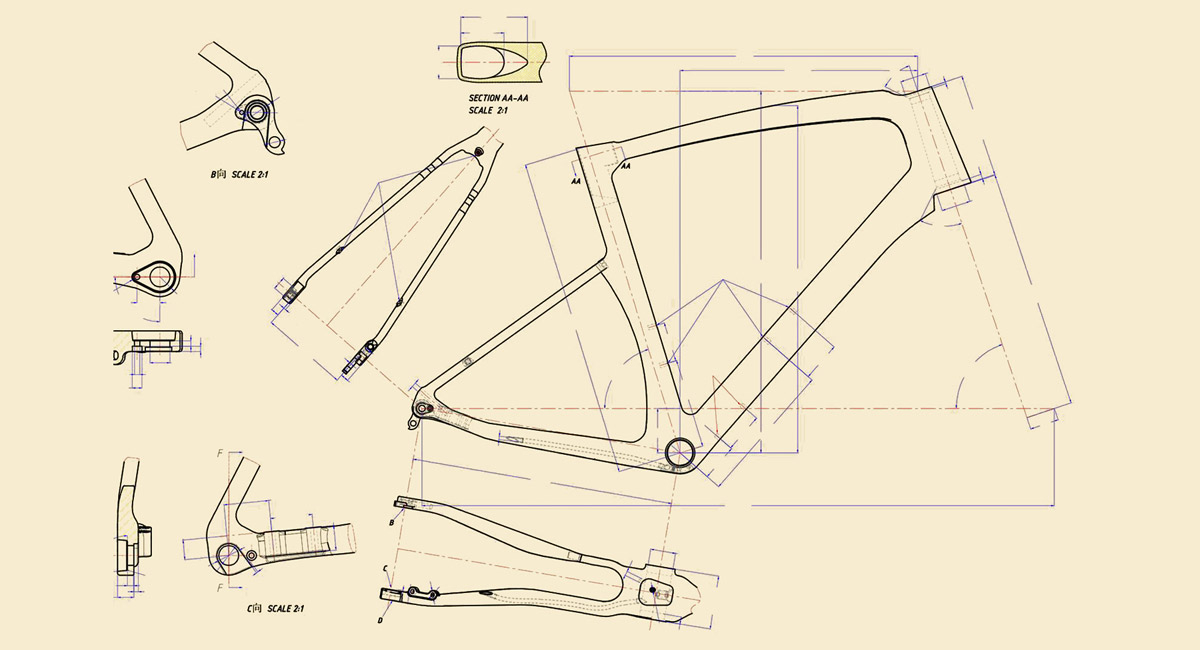 2021 Ridley Kanzo Fast gravel bike, all-new aero carbon gravel road race bike teaser, it's coming soon technical drawing