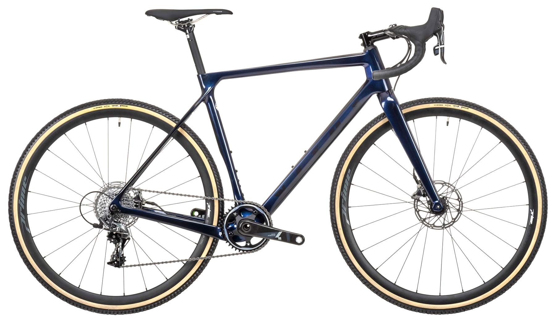 2021 Vitus Energie EVO cyclocross bike, race-ready lightweight affordable carbon CX bike, CRS