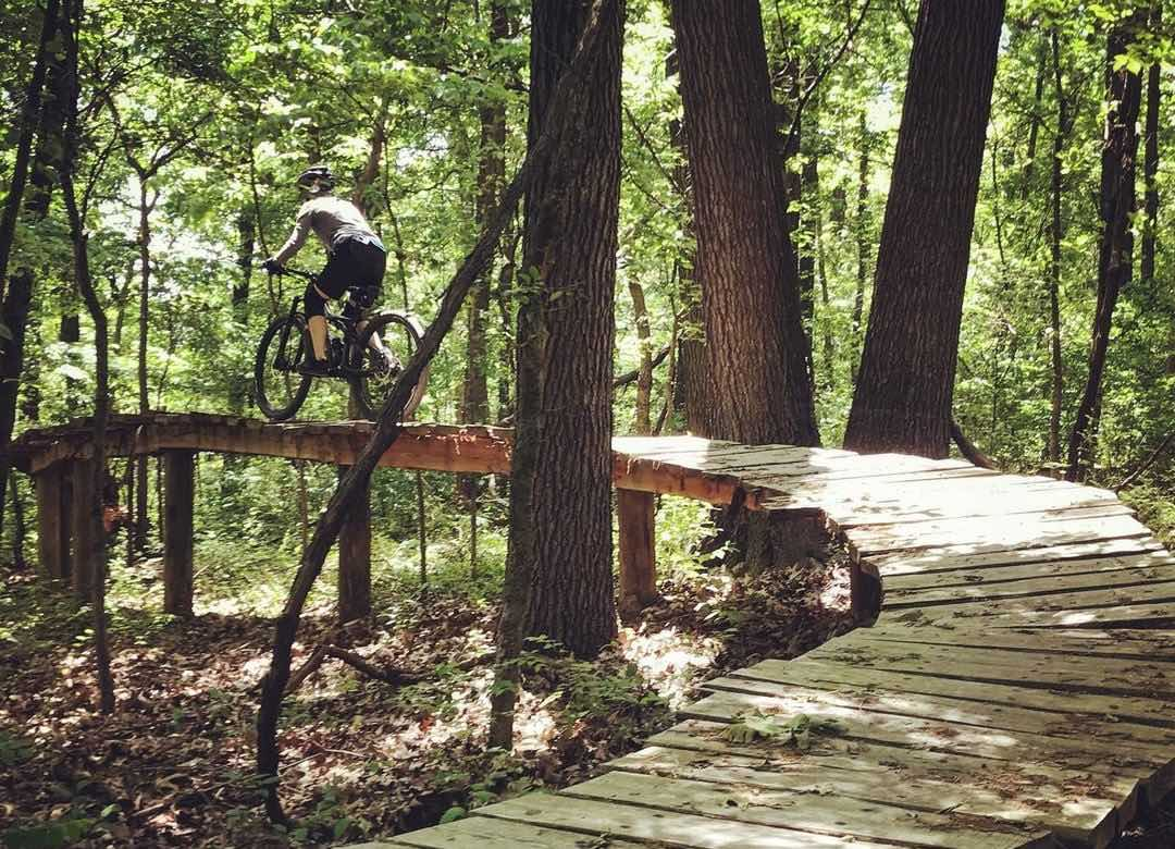 Coler's trail design has features you won't find anywhere else