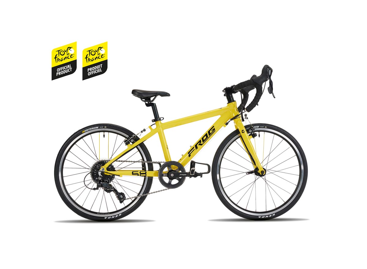 Give your kid the gift of the Yellow Jersey with Tour de France x Frog kids' bike range