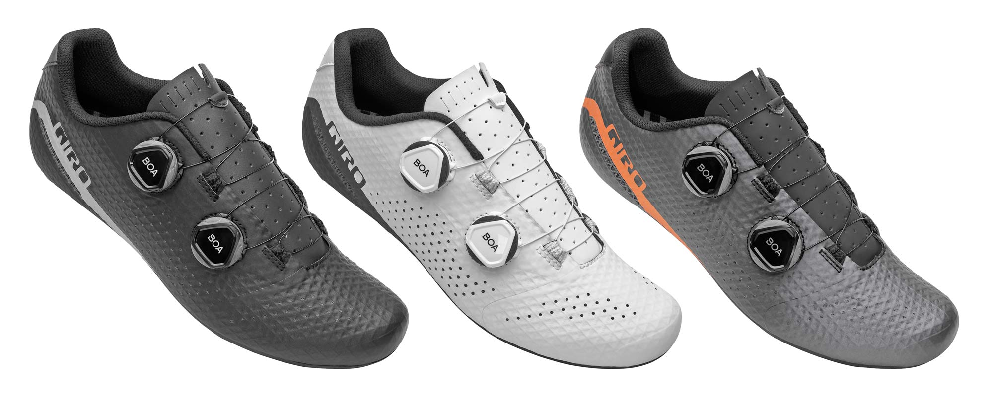 Giro Regime high performance road shoes at a mid-level price, colors
