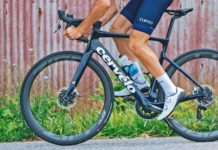 Giro Regime high performance road shoes at a mid-level price, riding