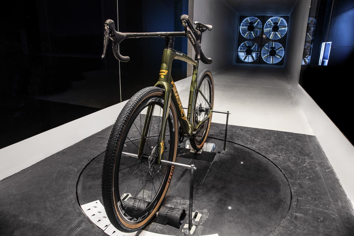 Ridley Kanzo Fast in the wind tunnel