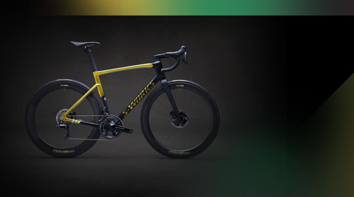 Peter Sagan's Deconstructivism collection by Specialized tarmac bike