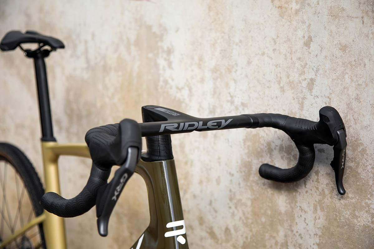 ridley Kanzo fast aerodynamic gravel race bike technical features and details