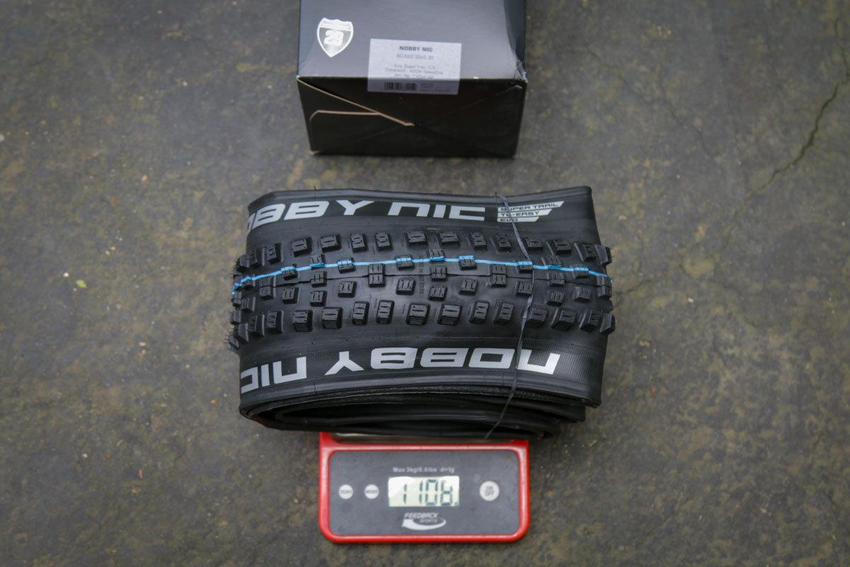 Schwalbe Decade of Super tire nobby nic weight