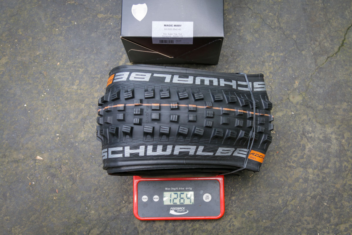 Schwalbe Decade of Super tire magic mary weight