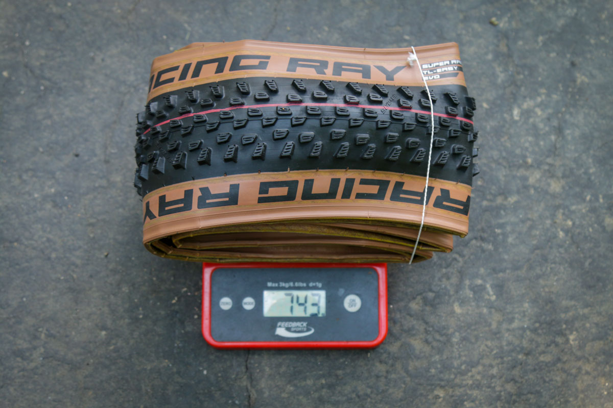 Schwalbe Decade of Super tire Racing Ray weight