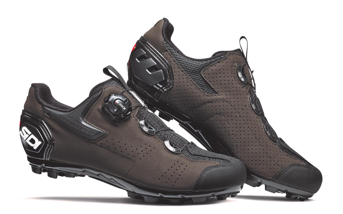 New Sidi Gravel shoes smooth over rough roads with synthetic suede style - Bikerumor
