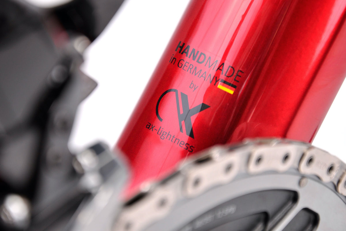 Handmade in Germany shows pedigree for the VIAL Evo Disc