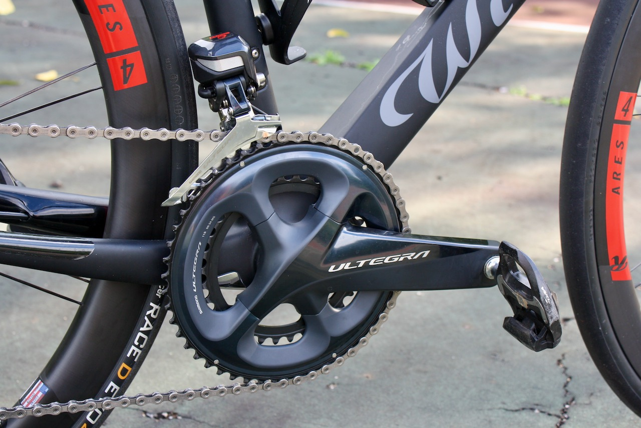 Wilier Cento10NDR front chainset