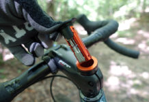 granite stash RCX mini tool hides inside your carbon steerer tube