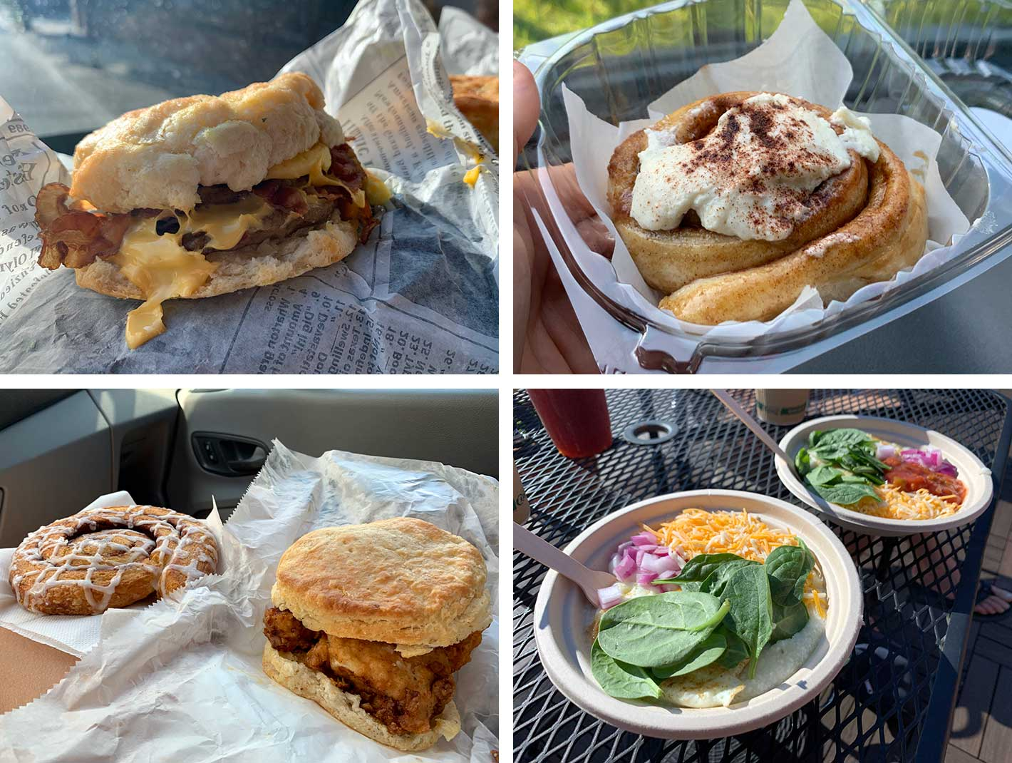 breakfast foods and biscuits from scratch crumbles and downshift coffee shop