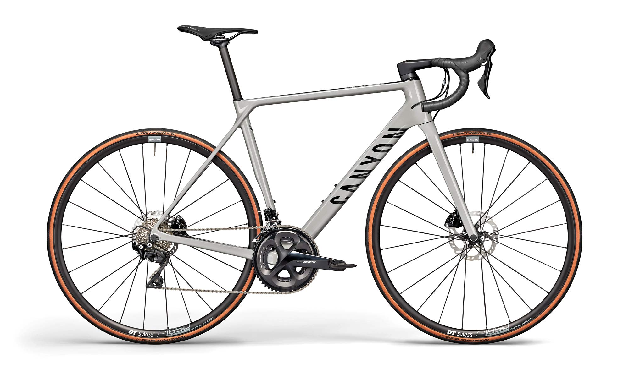 2021 Canyon Ultimate CF SL disc brake road bike, SL 7