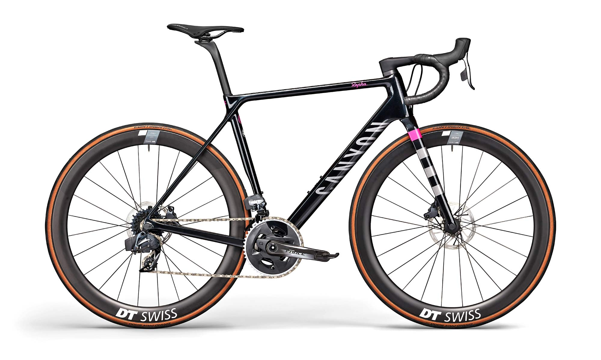 2021 Canyon Ultimate CF SL disc brake road bike, Rapha RCC