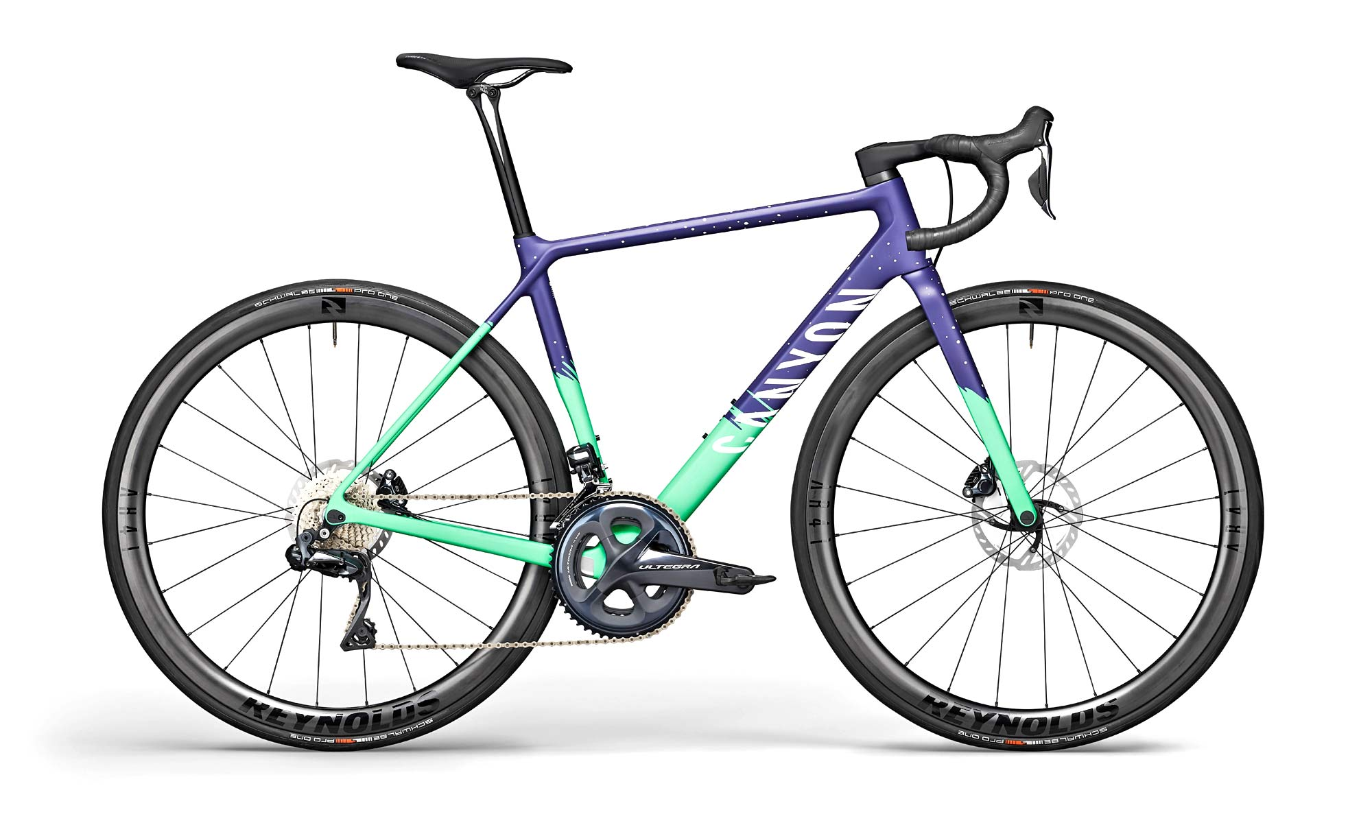 2021 Canyon Ultimate CF SL disc brake road bike, SL 8 WMN Di2