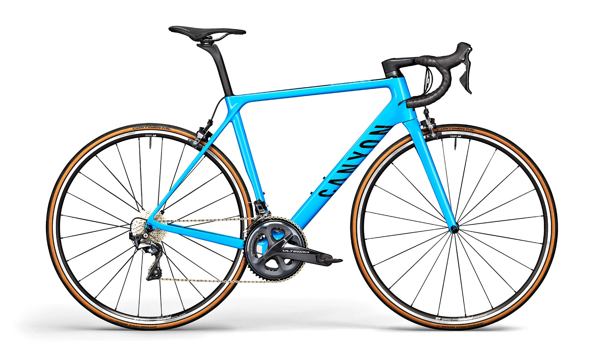 2021 Canyon Ultimate CF SL rim brake road bike, SL 8