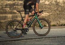 2021 Scott Addict RC eRide road e-bike, light carbon stealth e-road bike, photo by Rupert Fowler