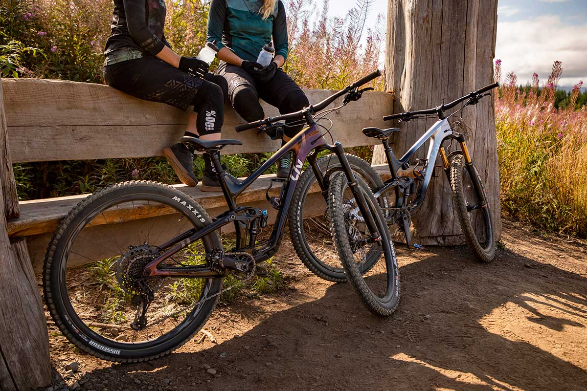 new carbon liv intrigue advanced pro two models offered women's trail bike