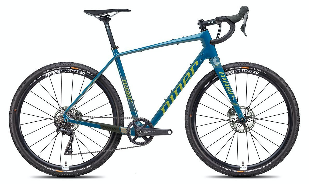 2021 niner RLT gravel bikes get 1x drivetrain upgrades and switch to Schwalbe Tires and DT Swiss wheels