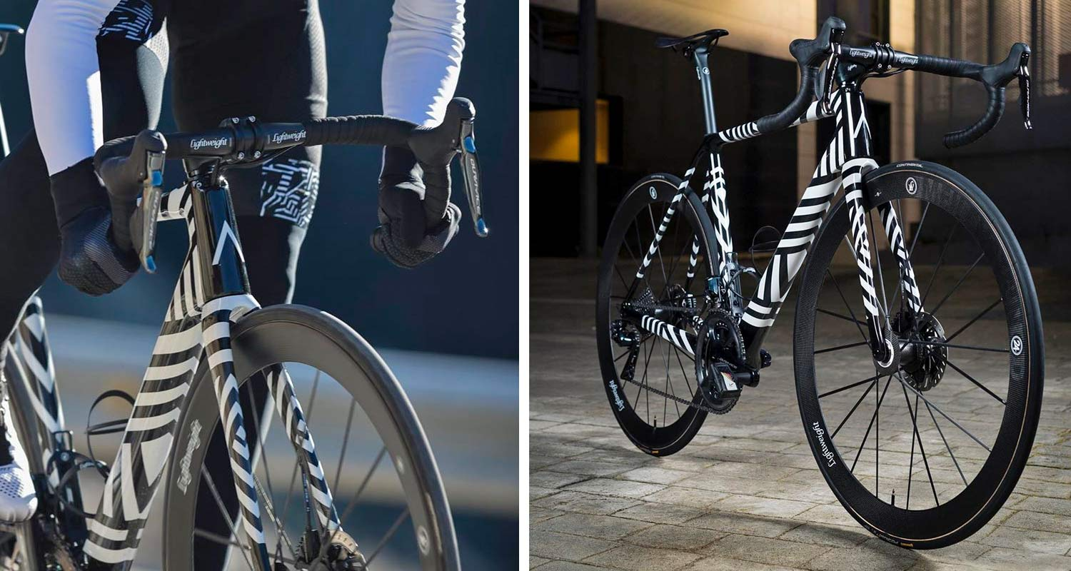 A_bikes, a new carbon road bike of Basso and Contador, headtube