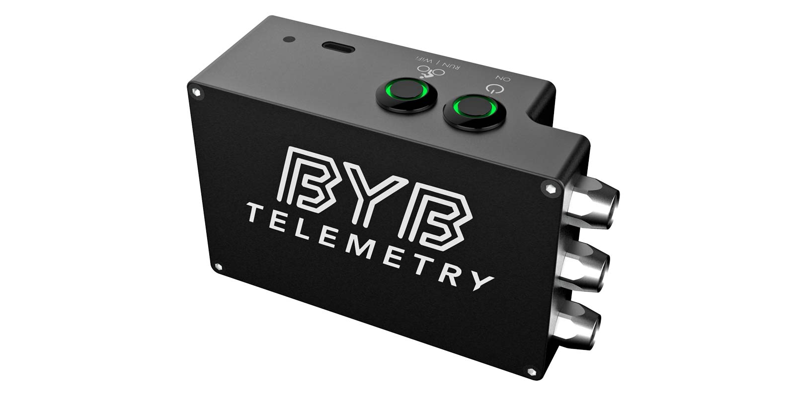 BYB Telemetry v2.0 pro MTB suspension analysis for the privateer mountain bike racer, CPU head unit